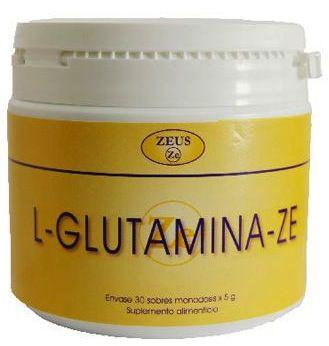 Zeus L-Glutamina-Ze 30 sobres