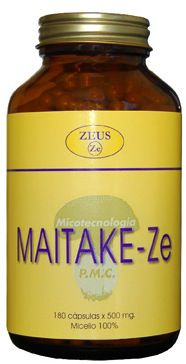Zeus Maitake-Ze 500mg 180 cápsulas