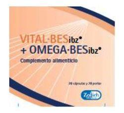 Zolich Vitalbes y Omegabes 30 cápsulas y 30 perlas